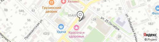 Участковый пункт полиции №3 на карте Иркутска