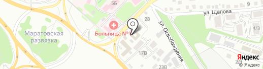 Бренд Мастер на карте Иркутска