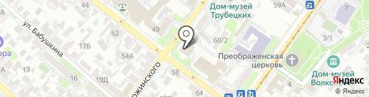 Ателье Рекламы на карте Иркутска