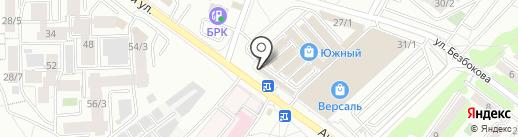 Рандеву на карте Иркутска