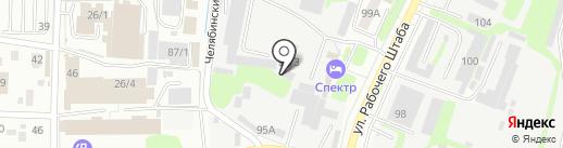 Столярное ателье на карте Иркутска