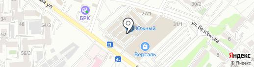 Межениновская птицефабрика на карте Иркутска
