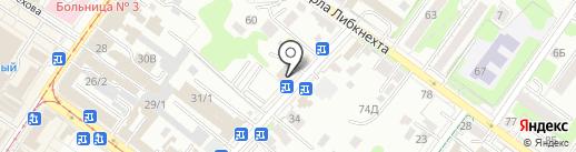 Аристо на карте Иркутска