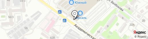 Мебель Холл на карте Иркутска