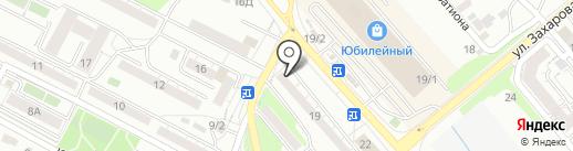 Sushi club на карте Иркутска