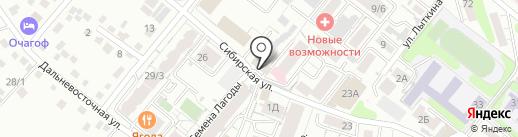 Printer38.ru на карте Иркутска