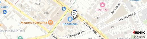 Лабиринт на карте Иркутска