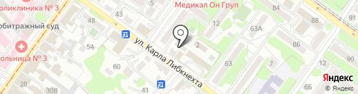 BRAZA на карте Иркутска