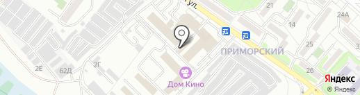 Ирвэс на карте Иркутска