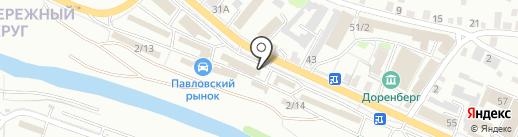 Шиномонтажная мастерская на карте Иркутска