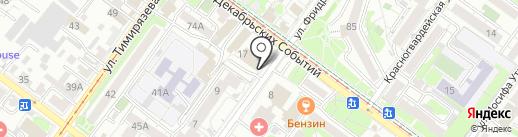 Небо без границ на карте Иркутска