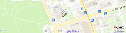 Tais на карте Иркутска