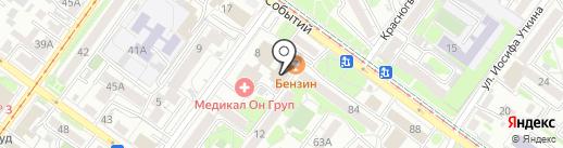 Про-Сервис на карте Иркутска