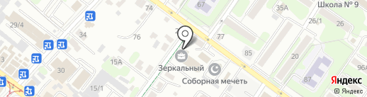 Geometria на карте Иркутска