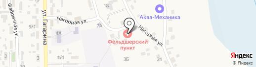 Фельдшерско-акушерский пункт на карте Карлука