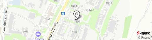 АНАНАС на карте Иркутска