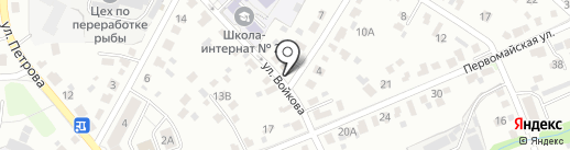 Перекресток на карте Иркутска