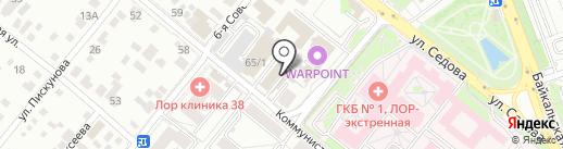 Ulmotron.ru на карте Иркутска