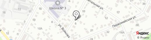 БурСтройБирюса на карте Иркутска