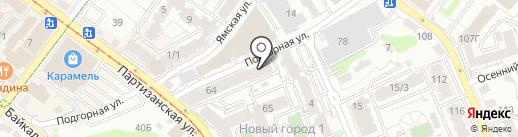МДК на карте Иркутска