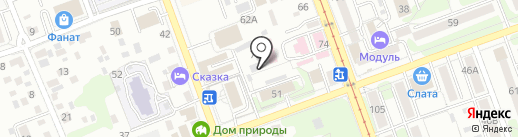 Discovery на карте Иркутска