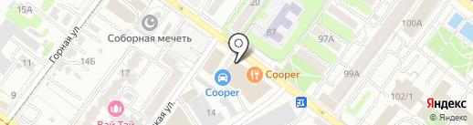 Wolt на карте Иркутска