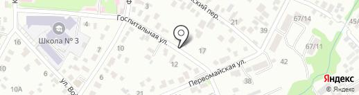 ВОДОВЕД на карте Иркутска
