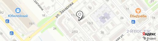 Саянский бройлер на карте Иркутска