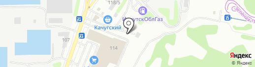 СИБИРСКИЙ КОНСУЛ на карте Иркутска
