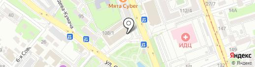 VEKA на карте Иркутска