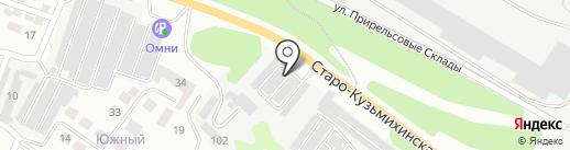 Искра-4 на карте Иркутска