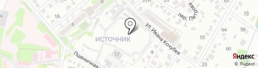 Manufactura на карте Иркутска