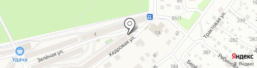Банкомат, Сбербанк России на карте Марковой