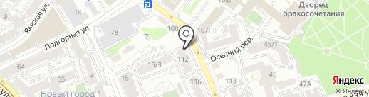 Шэнэ Бууза на карте Иркутска