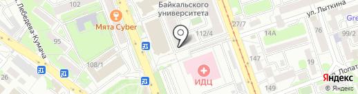 RELAX MODE на карте Иркутска
