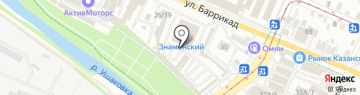 Магазин автохимии на карте Иркутска