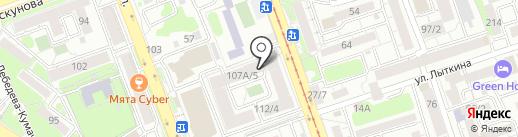 Сказка на карте Иркутска