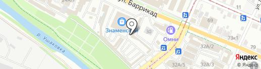 Магазин аккумуляторов на карте Иркутска