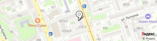 City Smoke на карте Иркутска