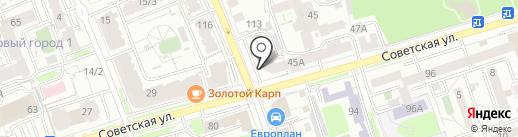 Взрослый мир на карте Иркутска