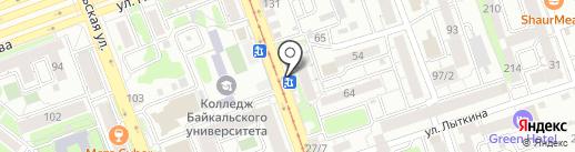Hot-Dog Master на карте Иркутска
