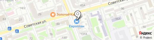 ПрофЛидер на карте Иркутска