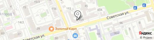 Восточная Агропромышленная корпорация на карте Иркутска