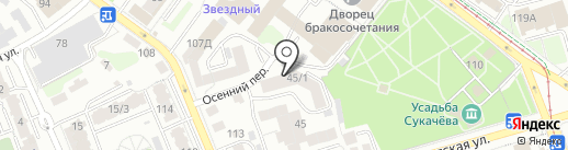 Заходи на карте Иркутска