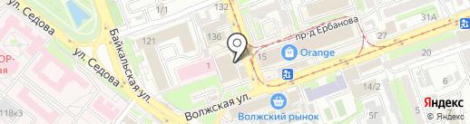 HOME МЕБЕЛЬ на карте Иркутска