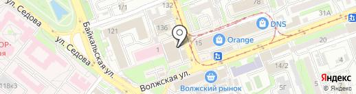 Виктан-Алко на карте Иркутска