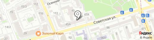 Малина вендинг на карте Иркутска