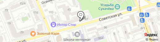Турмайнд на карте Иркутска