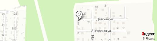 Монблан на карте Малой Топки