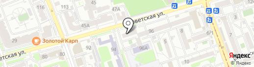 Beauty Bar SET на карте Иркутска